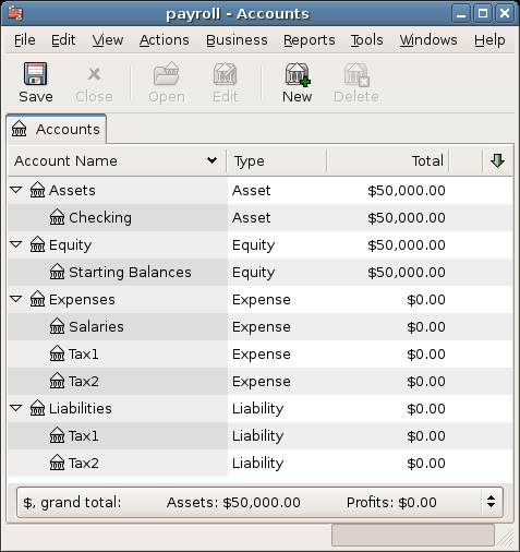 Payroll Example 1