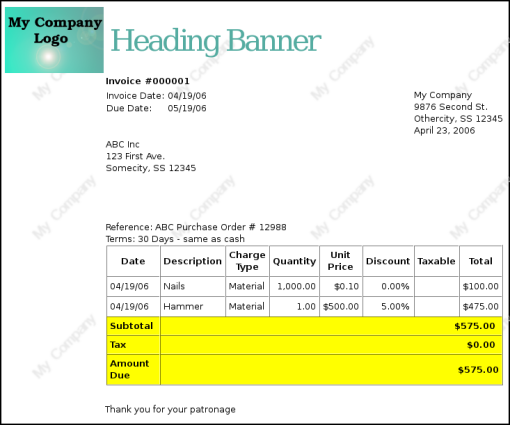 Doc513666 Invoice Sheets Free Invoice Template for Excel 76 – Invoice Sheets