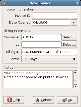 Ebitus  Mesmerizing  Invoices With Interesting Creating A New Invoice With Archaic Paper Invoices Also Invoice Draft In Addition Towing Invoice Forms And Invoice Fee As Well As Invoice Po Additionally Express Invoice Review From Gnucashorg With Ebitus  Interesting  Invoices With Archaic Creating A New Invoice And Mesmerizing Paper Invoices Also Invoice Draft In Addition Towing Invoice Forms From Gnucashorg