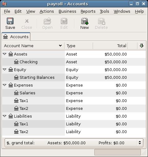 135 Payroll – Payroll Sample