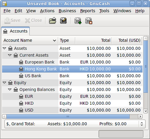 Recording And Updating Currency Exchange Rates